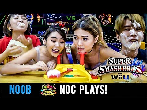 NOC Plays Super Smash Bros! (Pie Face Showdown)
