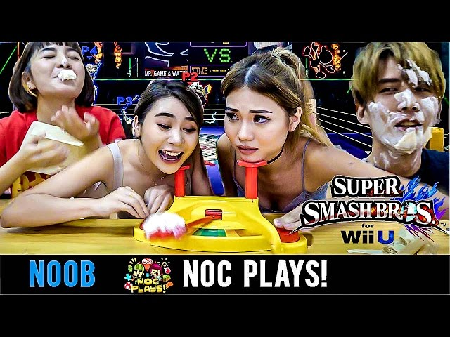 NOC Plays Super Smash Bros (Pie Face Showdown)