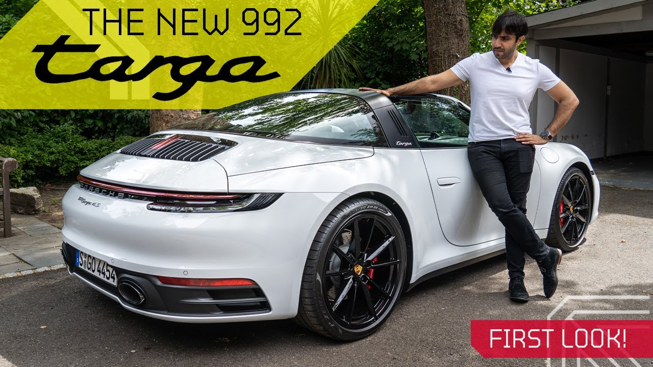 New Porsche 992 Targa 4S! History and First Drive!