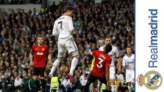 20 Famous/Unforgettable Goals Scored By Cristiano Ronaldo For Manchester United