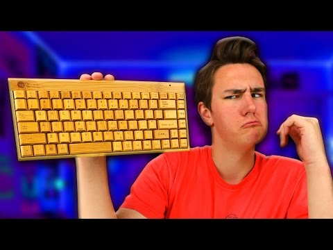 The $27 Wooden Keyboard