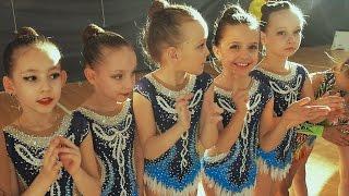 Художественная гимнастика ВЕСЕННИЕ КРАСКИ Парад и награждение в групповых упражнениях.