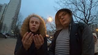 СтопХам-Попытка наезда\Врезался в столб на тротуаре\Заступник хамов