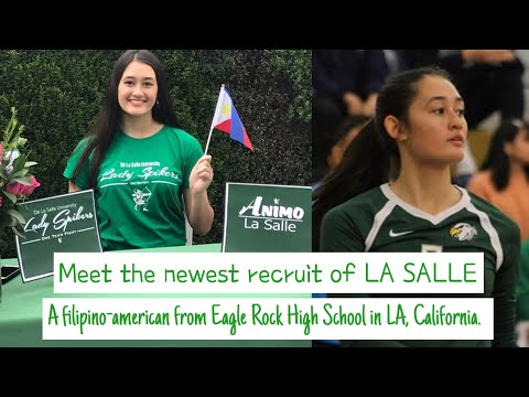 THE NEWEST RECRUIT OF DLSU LADY SPIKERS - JADE FUENTES