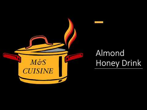 almond-honey-drink