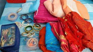 Jaipur shopping haul | bapu bazaar | bridal bangles | rajputana kangan set | Jaipur trip |