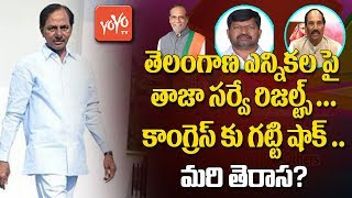 Telangana Elections Latest Survey Results | Big Shock To Congress | TRS | CM KCR | YOYO TV Channel