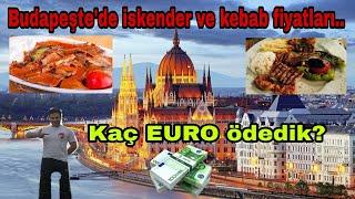 Macaristan'da bir iskender kaç EURO ? iftardan sonra bakın lütfen açlık hissi uyandırır.. !!