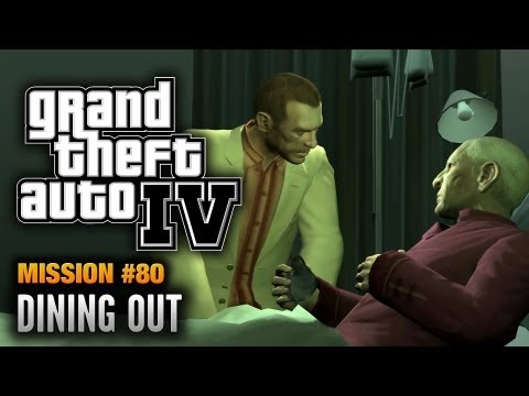 GTA 4 - Mission #80 - Dining Out (1080p)