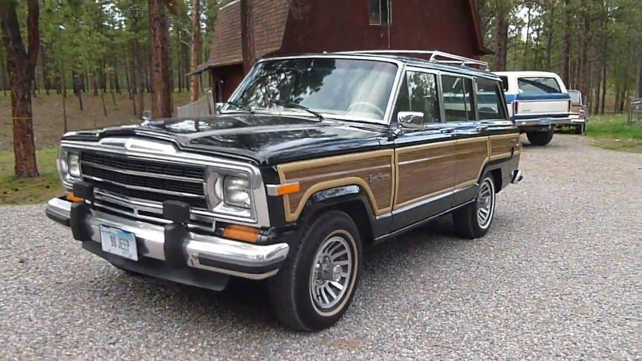 1990 jeep grand wagoneer for sale youtube. Black Bedroom Furniture Sets. Home Design Ideas