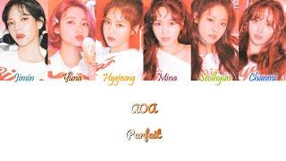 AOA (에이오에이) - Parfait (파르페) Han/Rom/Eng Color Coded Lyrics
