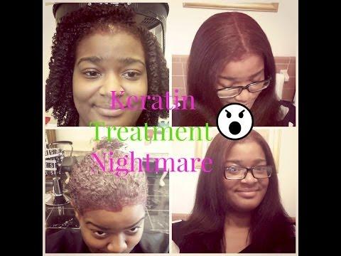 Keratin Treatment Nightmare Natural Hair