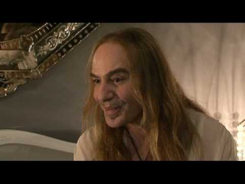 Interview with John Galliano at the Christian Dior Fashion Show in Paris