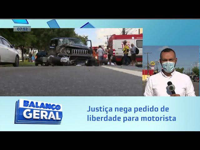 Acidente no Farol: Justiça nega pedido de liberdade para motorista que matou duas pessoas