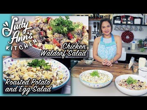 [Judy Ann's Kitchen 8] Ep 5: Chicken Waldorf Salad and Roasted Potato & Egg Salad
