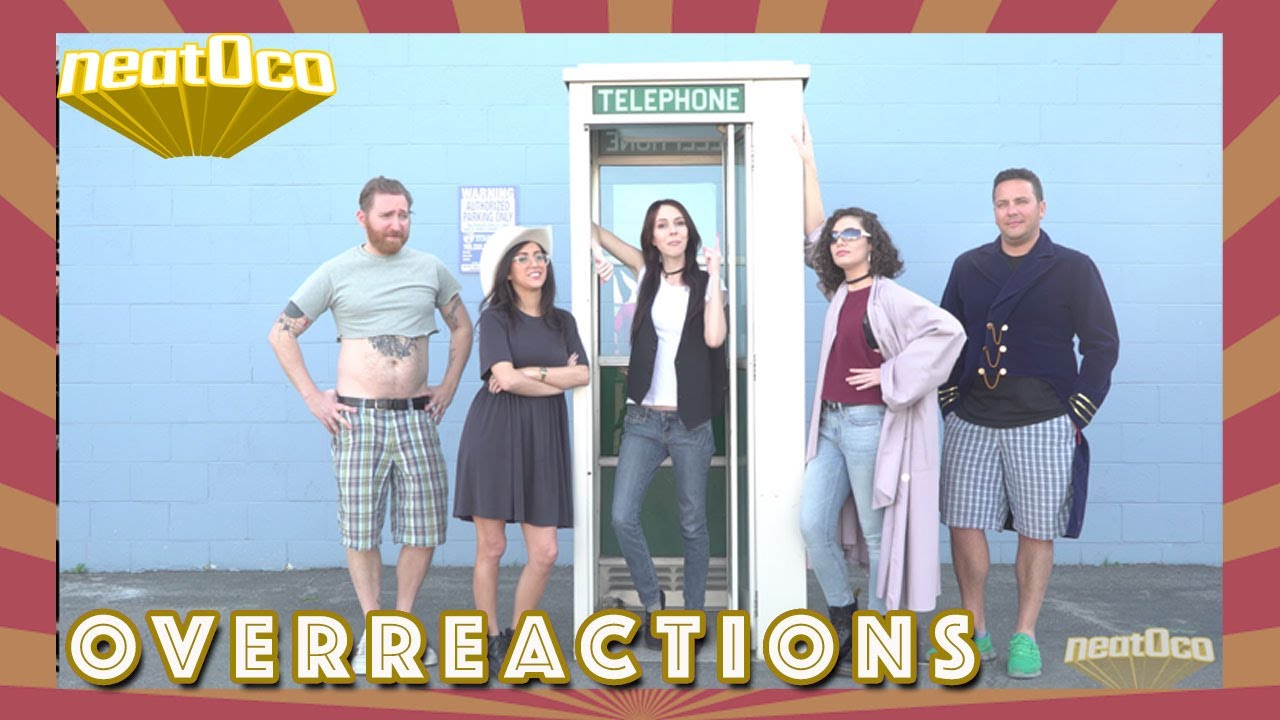 Overreactions 5 People Watch Bill Ted In A Phone Booth