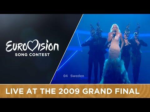 Malena Ernman - La Voix (Sweden) LIVE 2009 Eurovision Song Contest
