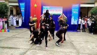 bống bống bang bang bung đi tay nhau ra cover by cn team khai giảng 2016 thpt nguyễn tri