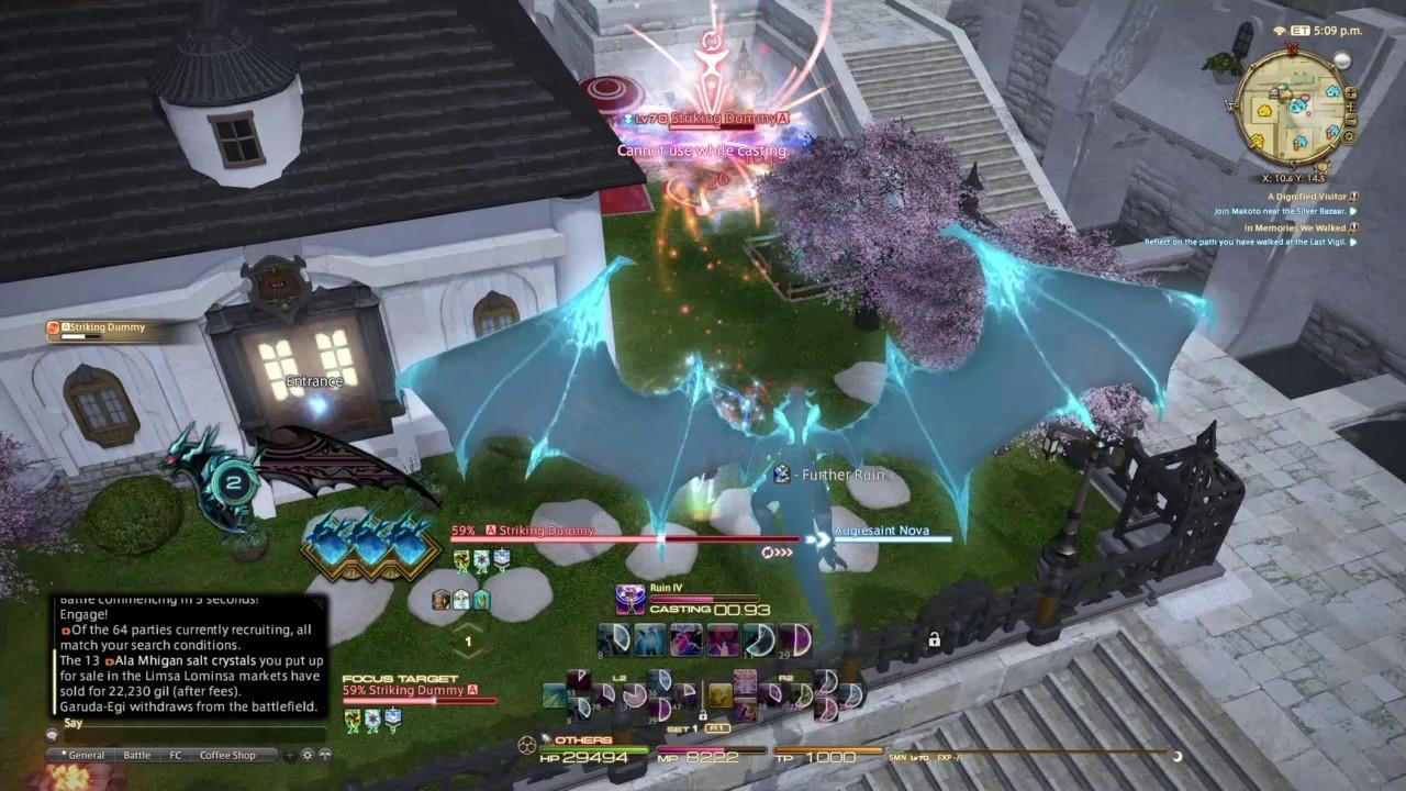 FFXIV - Stormblood - Summoner DPS GUIDE - 4 0