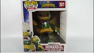 Funko Pop Vinyl Marvel Contest of Champions Howard the Duck Unboxing