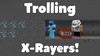 TROLL NG HACKERS W TH XRAY FUNNY M NECRAFT AN MAT ON