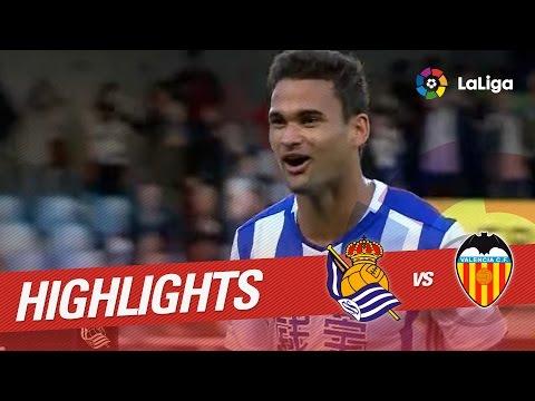 Resumen de Real Sociedad vs Valencia CF (3-2)