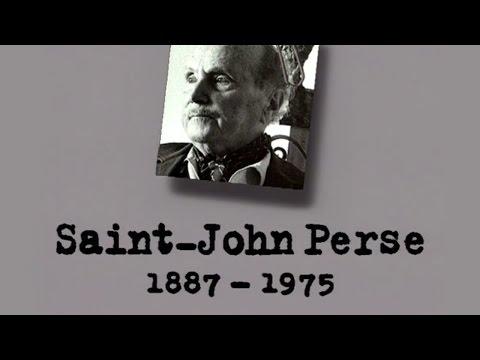 SAINT-JOHN PERSE – Un siècle d'écrivains : 1887-1975 (DOCUMENTAIRE, 1996)