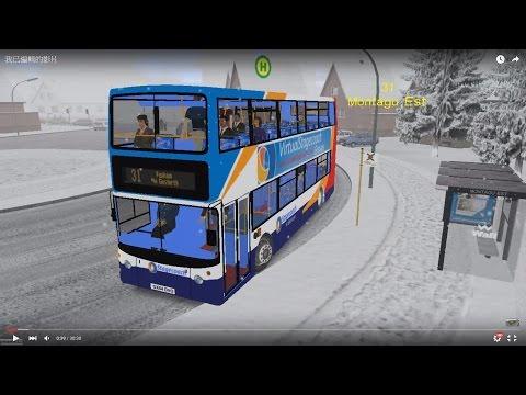 Omsi 2 tour (658) NewCastle Bus 31 Montagu Est - Benwell - Fenham @ Stagecoach Dennis ALX400