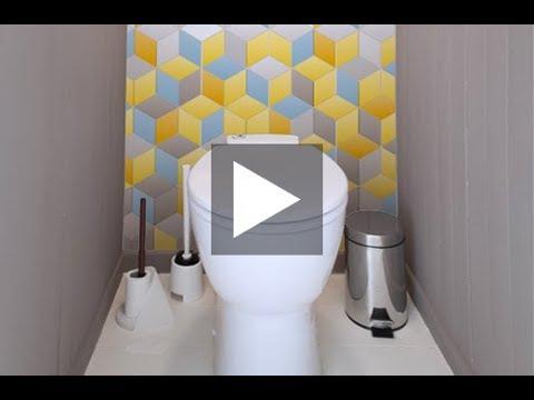 comment poser une cr dence wc d co k in youtube. Black Bedroom Furniture Sets. Home Design Ideas