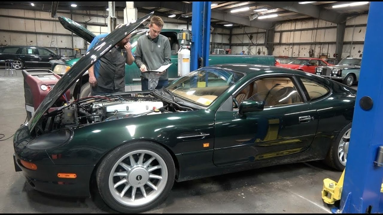 Here's Everything That's Broken on My Cheap Aston Martin DB7