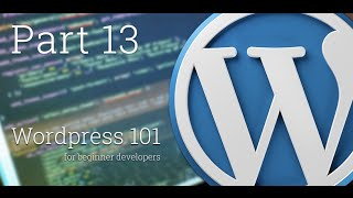 WordPress 101 - Part 13: Create and manage the Pagination in your blog loop