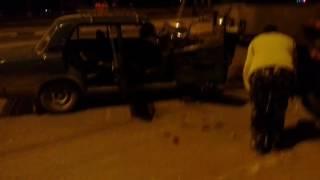 Жесткая авария на Октяборьской Революции
