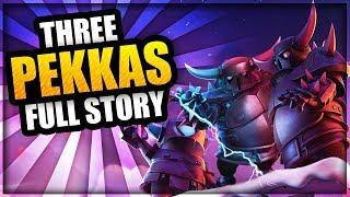 How were the 3 PEKKAs Created? - FULL Clash of Clans Origin Story - Mini Pekka, Super Pekka \u0026 Pekka