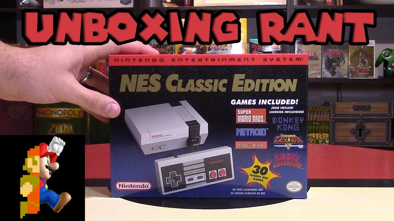 Nes Classic Edition Unboxing Comparison Rant Nintendo