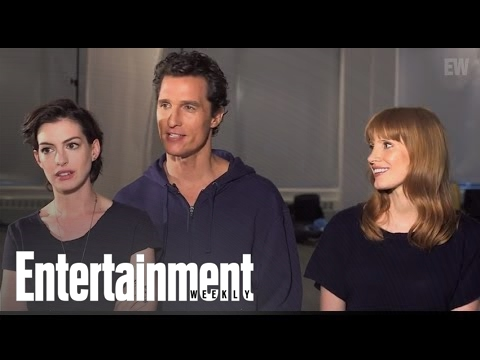 Interstellar: Matthew McConaughey, Anne Hathaway, & Jessica Chastain Pop Quiz