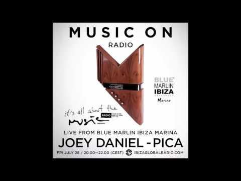 Joey Daniel, Pica - Live @ Blue Marlin Ibiza Marina - 28-07-17