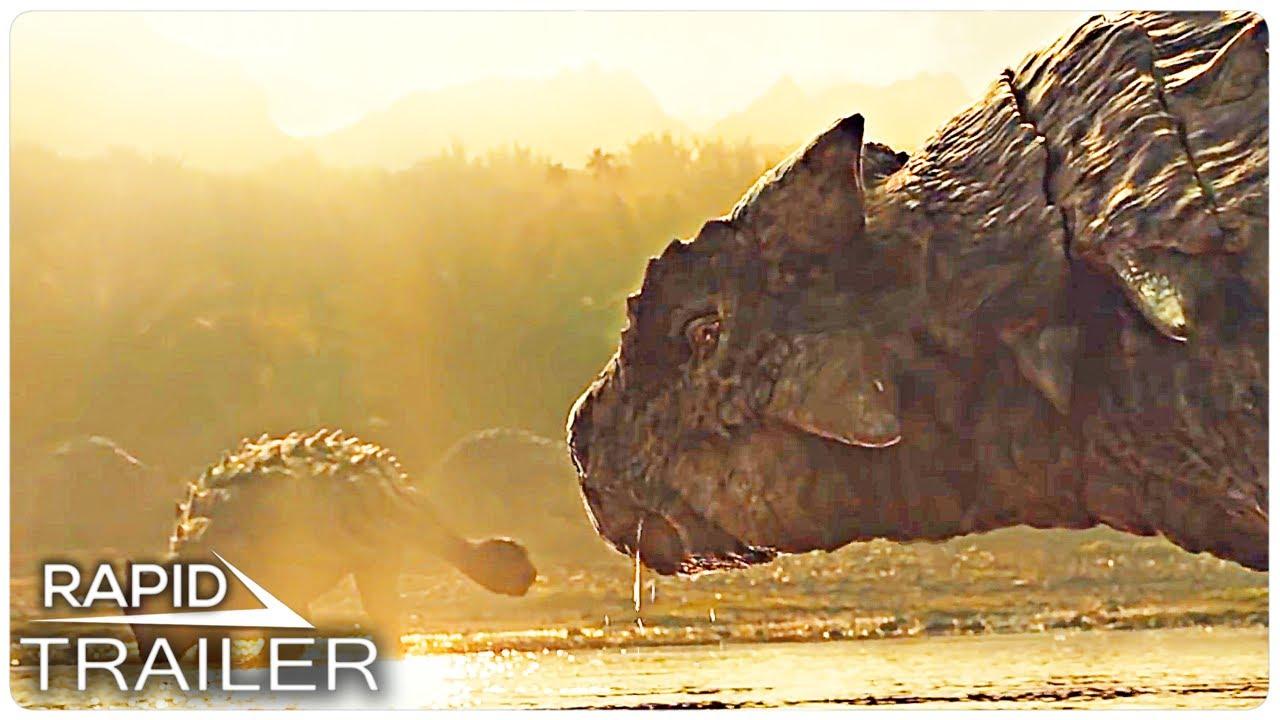 JURASSIC WORLD DOMINION First Look Trailer (2021)