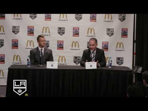 LA Kings Introduce John Stevens as Head Coach