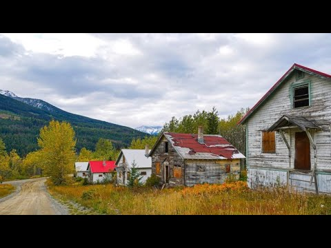 Abandoned ghost town hidden in the woods. Bradian, B.C. Canada. Explore #23