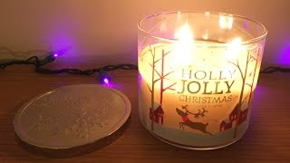 Holly Jolly Christmas - Bath & Body Works / White Barn Candle Review - Winter 2014 Thumbnail