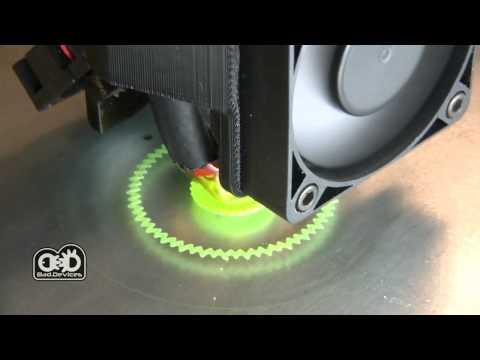 0 - Italienisches Unternehmen BadDevices stellt BadPrinter2 3D-Drucker vor