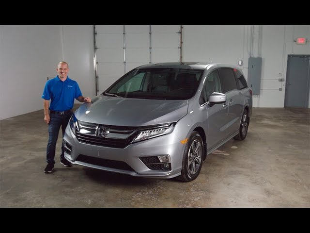 2018 Honda Odyssey Walk-Around Tour and Minivan Review