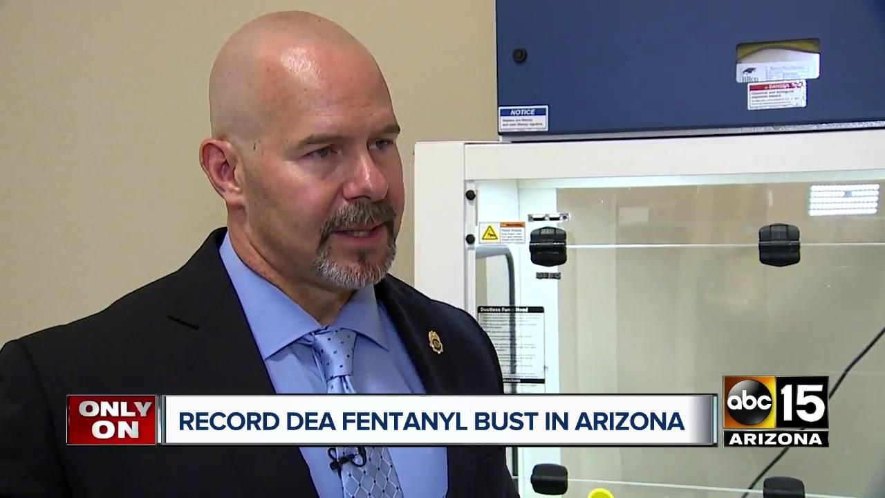 Big Fentanyl Bust In Arizona History