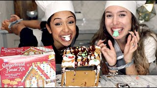 vermillionvocalists.com - GINGERBREAD HOUSE WITH NO HANDS CHALLENGE!!