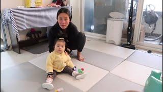 [육아브이로그]•일하고, 아기보느라 쉴틈없는 워킹맘 브…