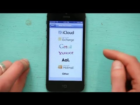 How To Set Up MS Outlook On A Microsoft Exchange Server On An IPhone : Tech Yeah!