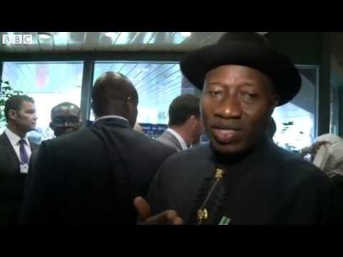 Goodluck Jonathan  Nigerian girls' abduction a turning point