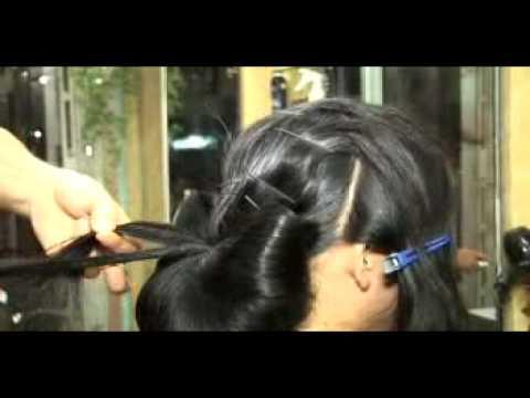 Bới tóc Dạ Hội - Chuyên gia trang điểm Trung Quân