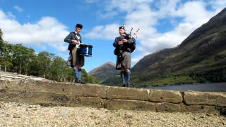 Highland Cathedral by solo piper and solo drummer