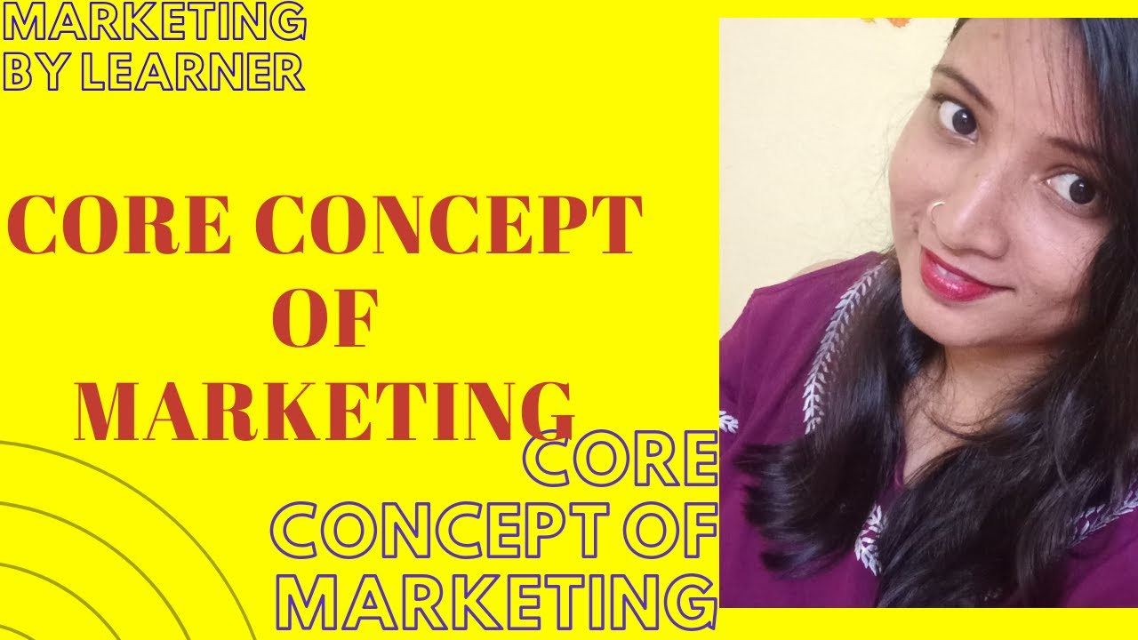 Core concept of marketing| Module 1| Part 2. - YouTube